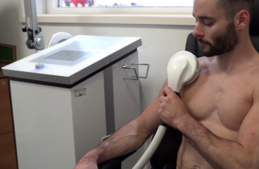 British Gymnast and Champion, using PEMF therapy for recovery